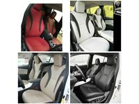 LEATHER CAR SEAT COVERS FOR TOYOTA PRIUS FORD GALAXY VOLKSWAGEN SHARAN SHARON VW PASSAT TOURAN TAXI