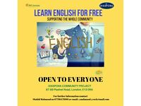 FREE ENGLISH LEARNING FOR ALL