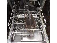Beko DW451 integrated slimline dishwasher (used)