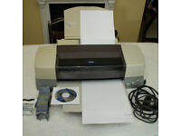 Epson A3+ ink jet printer model Stylus Photo 1290 in good working order makes awesome prints