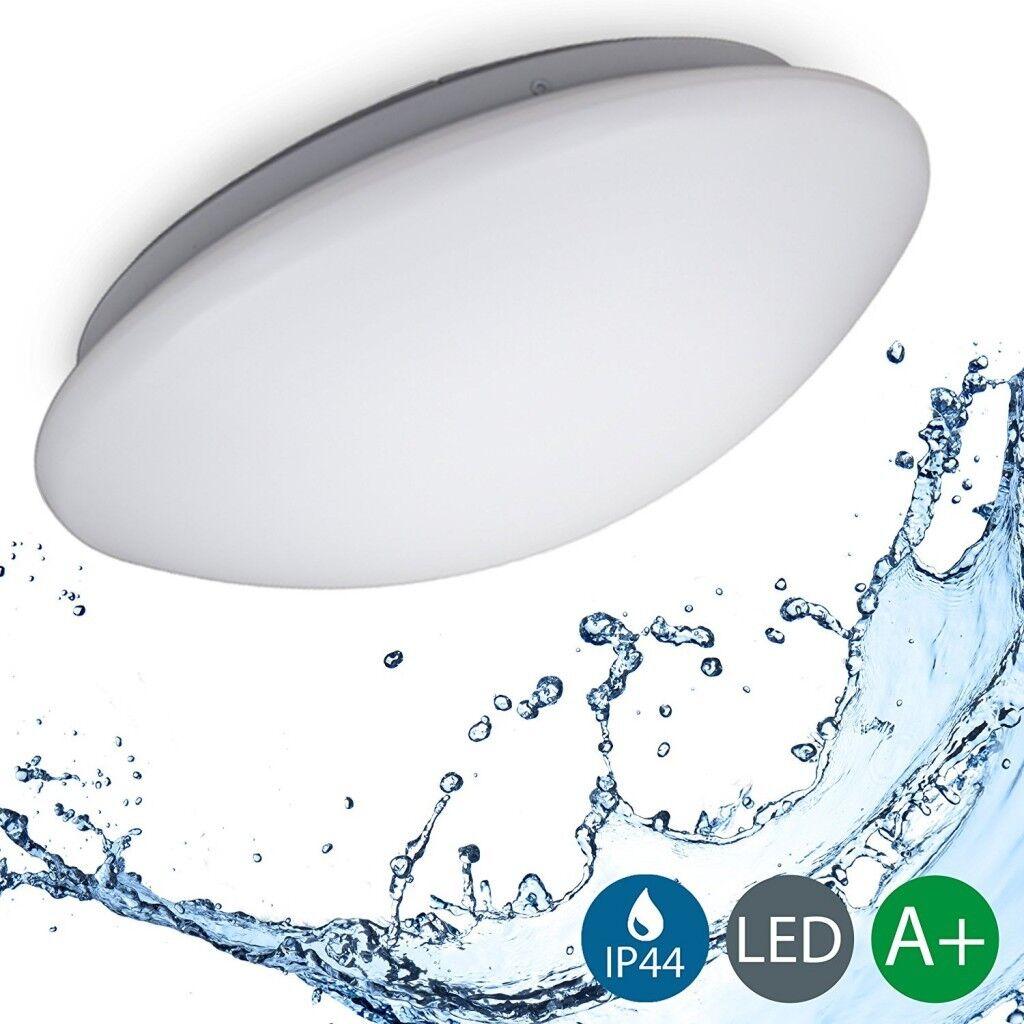 LED Decken-Leuchte Lampe Bad IP44 Schlaf Wohn-Zimmer Beleuchtung Küche B.K.Licht