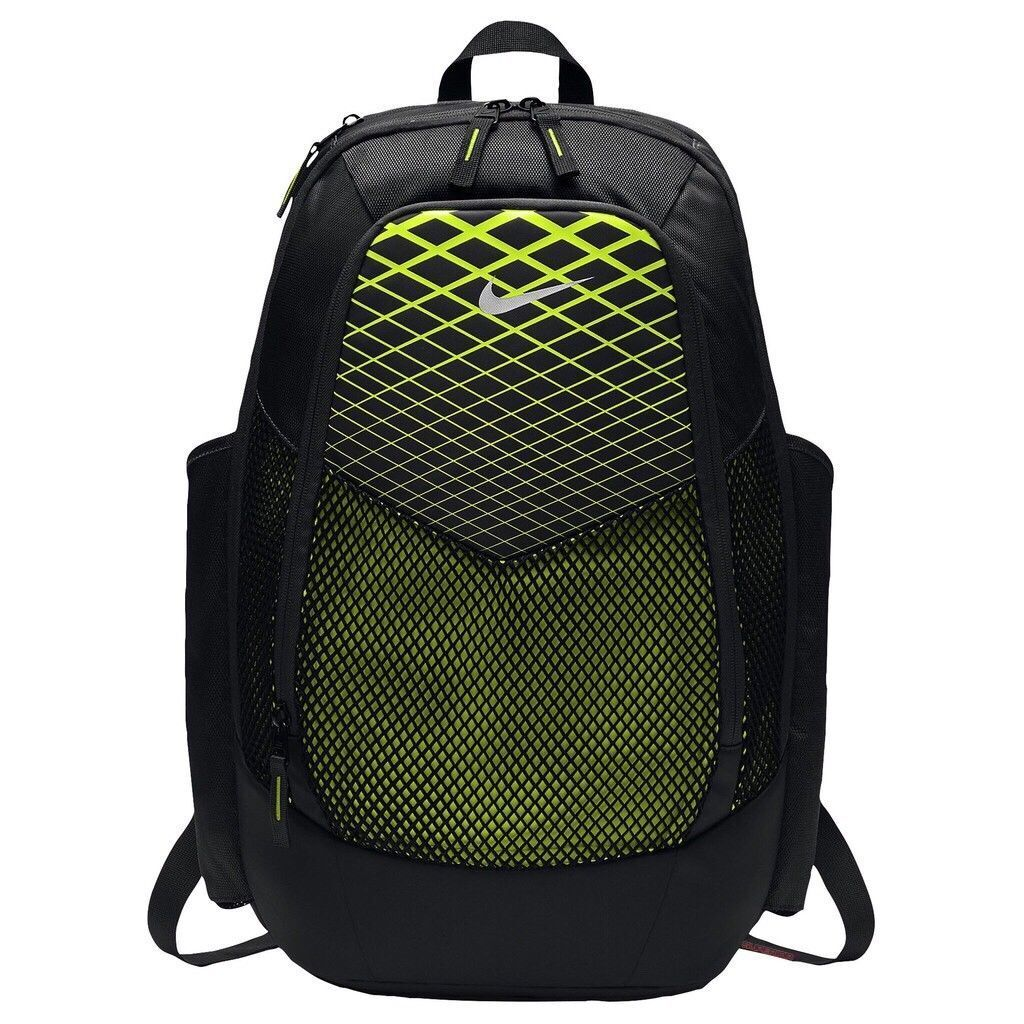 409b5e31ec Nike Vapor Power Black   Volt Laptop Unisex Backpack Ba5479 010 for ...