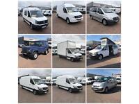 Vans vans & more vans at J&F trucks & vans Mallusk
