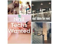 Nail tables to rent, beauty room, hairdressers, new salon , job