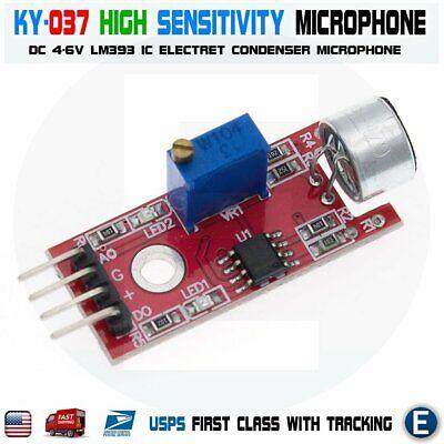 Microphone Sensor High Sensitivity Sound Detection Module Arduino Avr Pic Ky-037