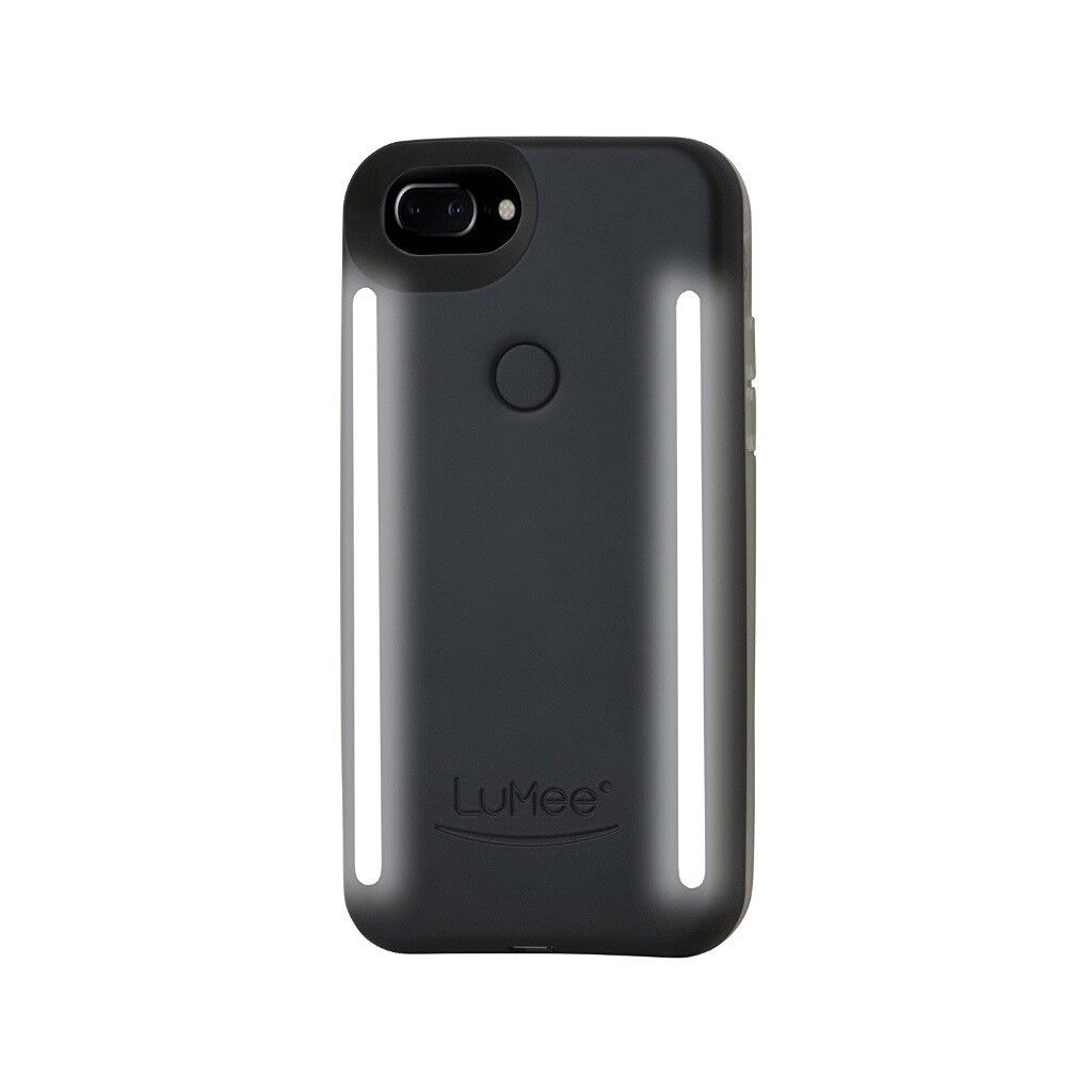 official photos 86c26 310fa LuMee Duo Phone Case for iPhone 6/6S/7/8 Plus - Matte Black | in Ilford,  London | Gumtree