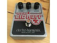 Fuzz Guitar Pedal - Big Muff by EHX