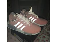 Limited EdItion Pink and Grey Nmd's