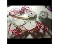 4 bunches of craft ribbon