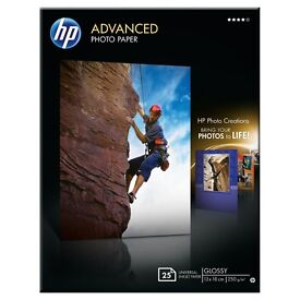 HP Advanced Glossy universal Photo Paper (10x15cm) 10 boxes (250 sheets total)