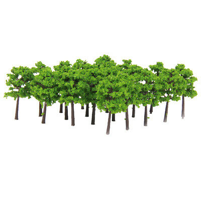 40pcs Z SCALE Model Trees Train Railway Building Park Street Scenery Layout for sale  Shipping to Canada