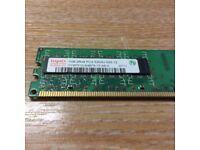 Hynix 1GB RAM DDR2 2Rx8 PC2-5300U-555-12 HYMP512U64BP8-Y5 AB-A 0711