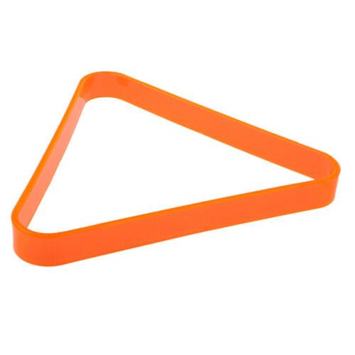 Billard Snooker Dreieck Rack Triangel Billardtisch Zubehör - für 57,2mm