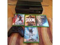 Xbox One 500GB Console + Games
