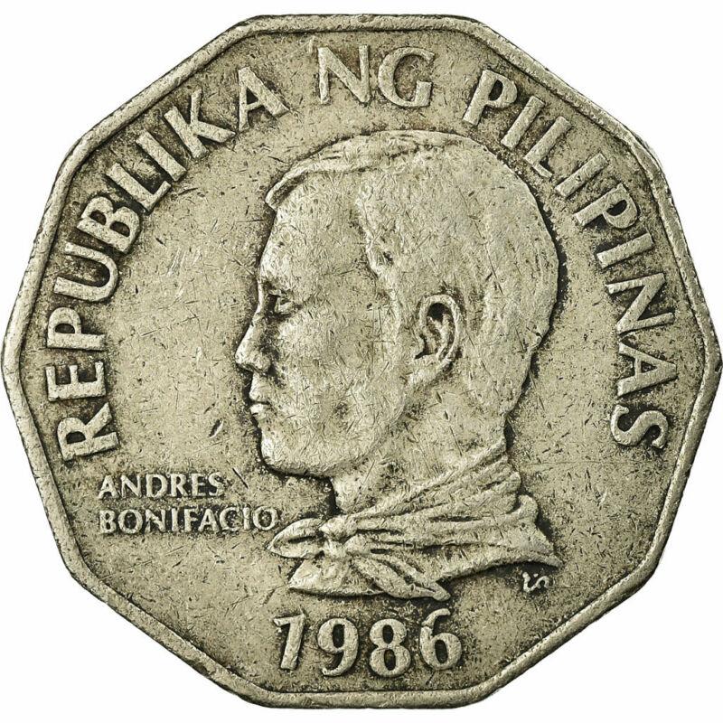 [#676071] Coin, Philippines, 2 Piso, 1986, VF(20-25), Copper-nickel, KM:244