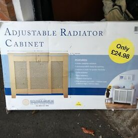 New (boxed) radiator cabinet