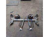 Ford fiesta zetec mrk6 complete rear axle