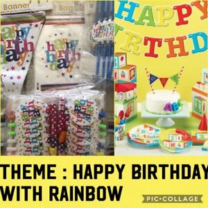 Birthday Party pack for 6 for themes like Frozen and more