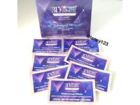 5 x Genuine Crest 3D White - Whitening Strips - teeth / dental whitening. New and Sealed Pouches .