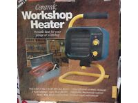 Workshop Ceramic Heater 1.5kw - unused