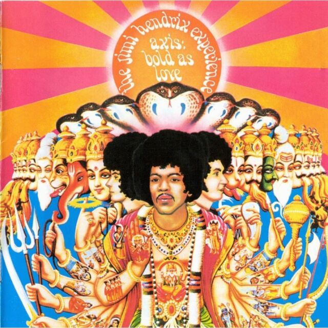THE JIMI HENDRIX EXPERIENCE ( NEW SEALED CD ) AXIS : BOLD AS LOVE