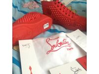 Brand new Christian louboutin shoes in red size 9 available