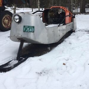Sno Bug Snowbug vintage snowmobile Collectors LOOK