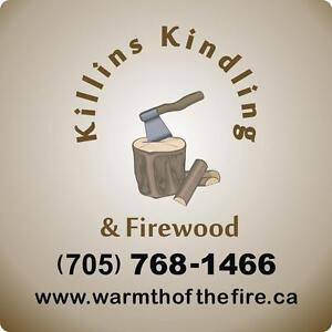 Firewood and Kindling (Hardwood or Cedar) Bags