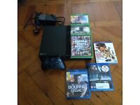 XBOX ONE 500GB + 3 Games + 3 BluRays + Controller/Accessories