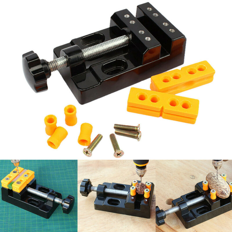 Mini Flat Clamp Table Jaw Bench Clamp Drill Press Vice Openi