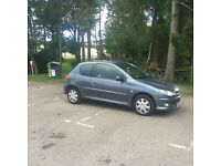 Peugeot 206 zest.55 plate.79139 miles. 2 owners. Mot end October. Selling as repair.