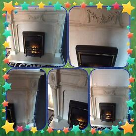 🔥🔥🔥fire surround and fire 🔥 🔥🔥