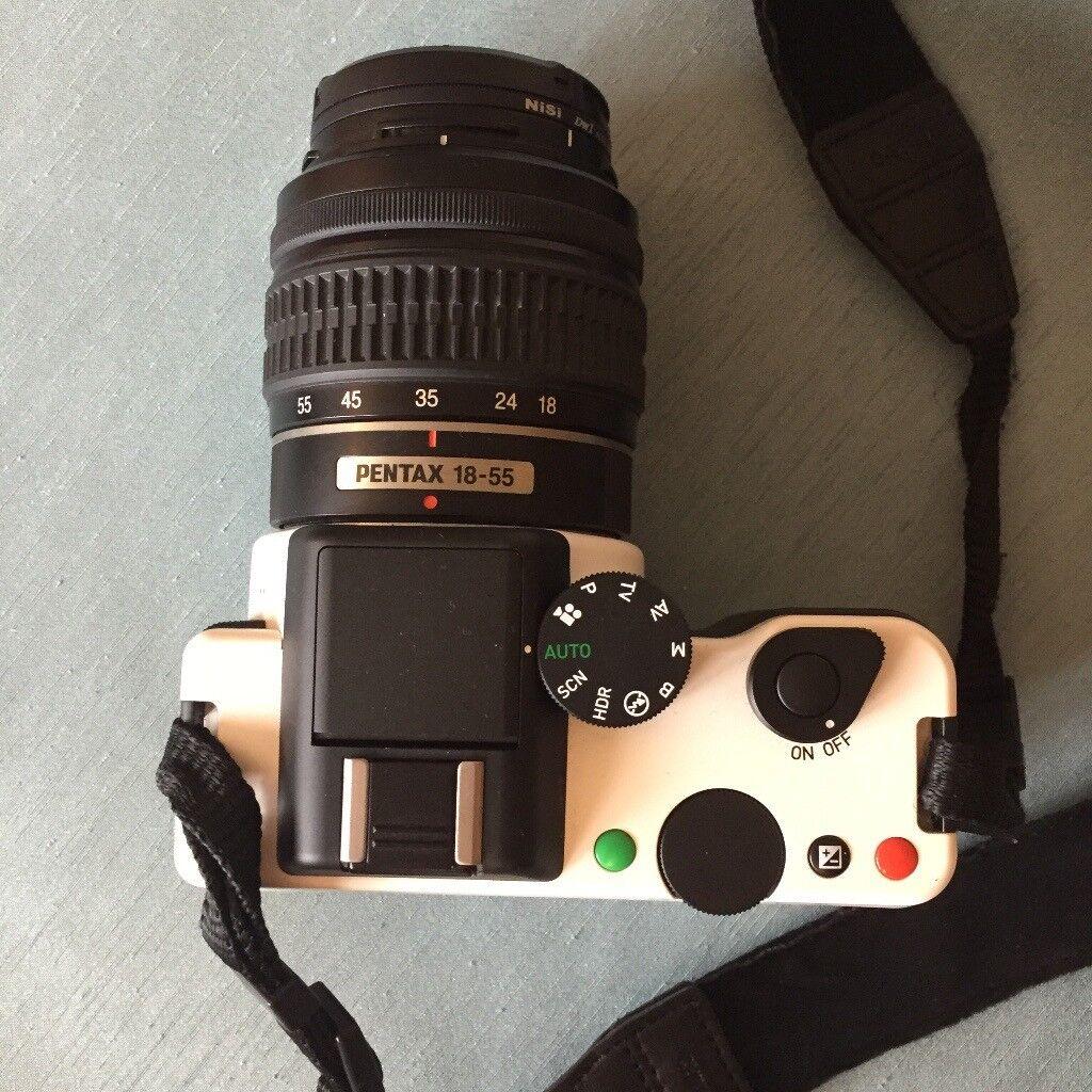 Red Dot Award! Pentax K-01 Camera With 18-55mm Lens