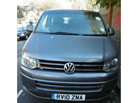 VW TRANSPORTER SHUTTLE, 2010 WITH PCO Licence.