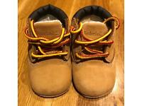 Baby Timberland Boots size UK 0.5