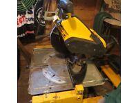 Dewalt DW743 Flip saw
