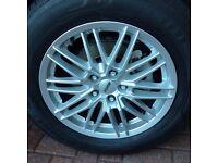 Alloy/wheel /tyres for Honda CRV