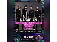 2 x TRNSMT Saturday All Day Tickets Glasgow Green Kasabian TRANSMIT