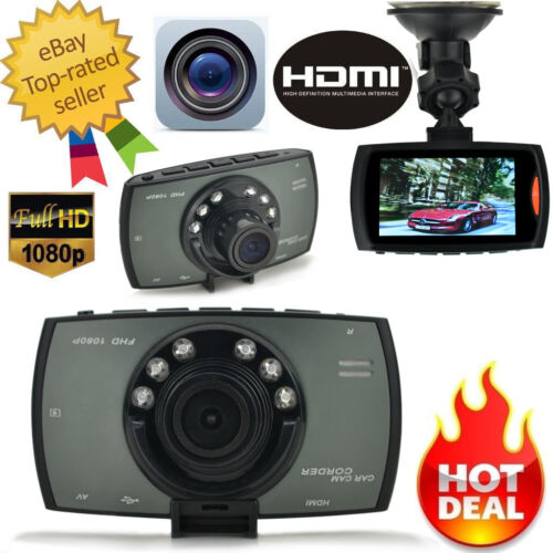 "1080P 2.7"" HD TFT LCD Car Dash Camera Video DVR Cam Recorder Night Vision"