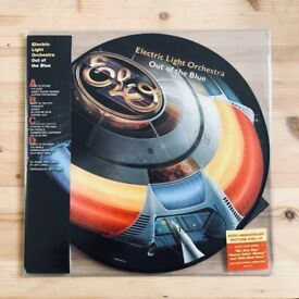 "ELO Out Of The Blue Double 12"" Vinyl Picture Disc 2017 We Are Vinyl Reissue"
