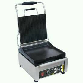 Buffalo contact grill (Brand new) model L519 rrp £390. Our price £250.