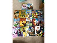 14 amazing children's DVDs/ Films and 6 great Disney books