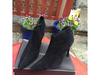 Ankle heel boots size 5