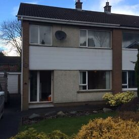 3 Bedroom, Semi Detached House avaialble for Rent, Woodcroft Avenue, Richhill, BT61 9JW