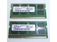 SONY VAIO VPCEB2C5E 4GB RAM MEMORY UPGRADE (laptop 2GB DDR3 PC3-10600 1333MHz)