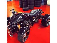 2015 spy racing F1 250 road legal quad bike ( not yamaha raptor buggy)