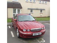 JAGUAR X-Type, 2.2 diesel, low mileage, immaculate condition inside & out, leather trim