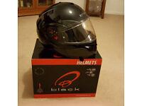 Black Optimus SV Flip-Front Helmet - New with box