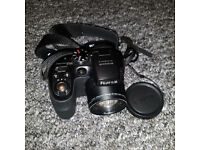 Fujifilm FinePix S Series S1000fd 10.0MP Digital Camera - Black, with 2GB SD card