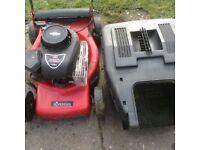 Soverign petrol lawn mower